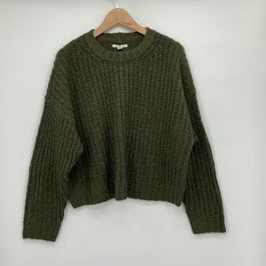 NWT American Eagle Cropped Knit Sweater